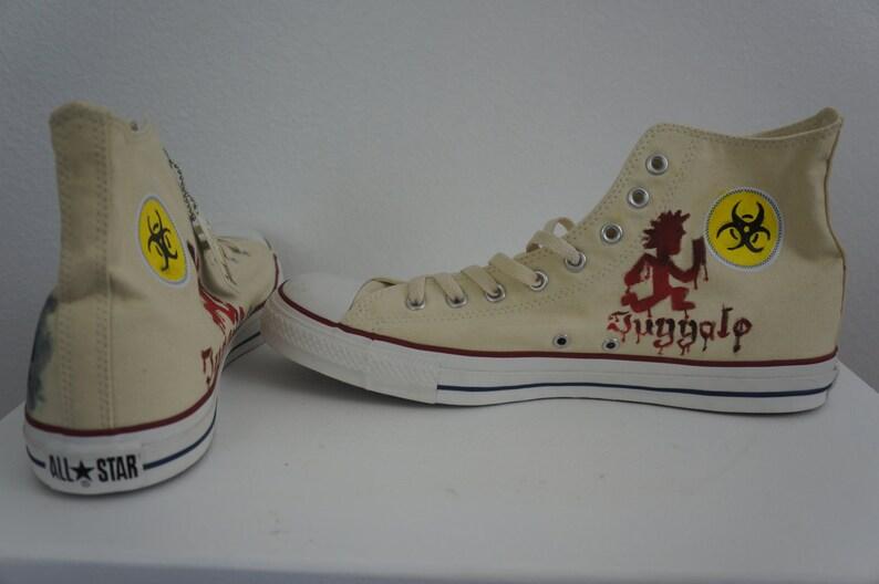 75a3bb243a3a Custom Painted Classic Horror Movie Chucky Chuck Taylor All