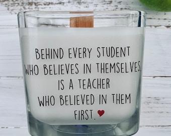 Teacher Gift, Gift For Teacher, Teacher Gifts, Personalized Teacher Gift, Personalized Candle, Custom Candle, Preschool Teacher Gifts,