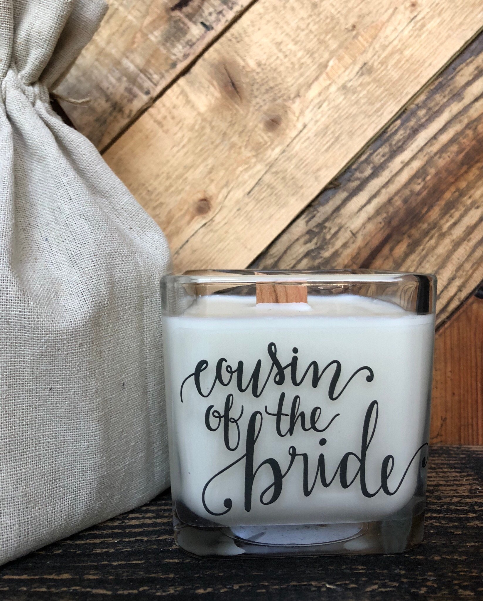Soy Candle Cousin Candle Cousin Wedding Gifts Gifts For