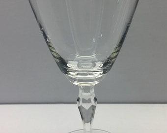 Fostoria Crystal BRIDAL BELLE Water Goblets SET OF FOUR