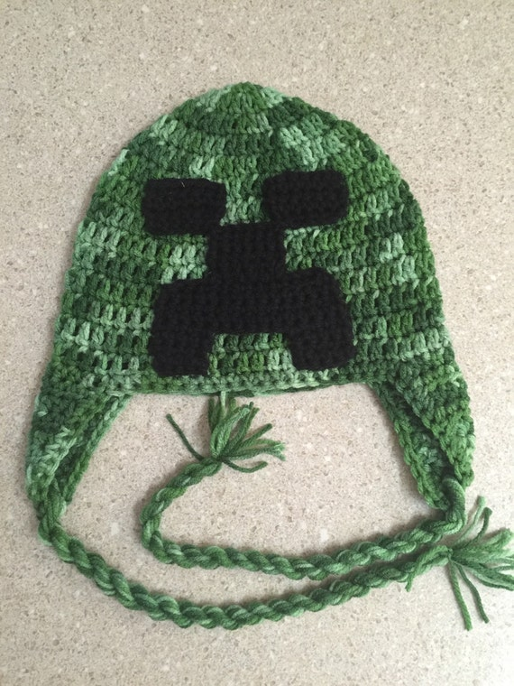 fc7366dab0c Minecraft inspired Creeper Beanie