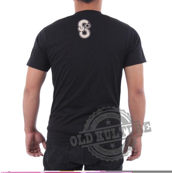 T Shirt  Heavy  Rock n Roll  Rockabilly Skull old school Custom Hot rod Vinta