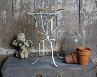 Wrought Iron Plant Stand Etsy
