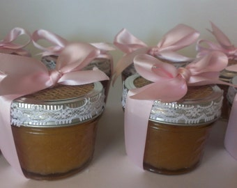 natural sugar scrub party favors for unique weddings bridal shower baby showers more free shipping
