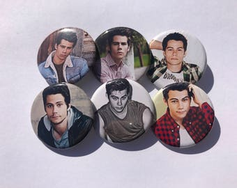 """1.25"""" Dylan O'Brien Pinback Pack Pins Buttons Badges"""