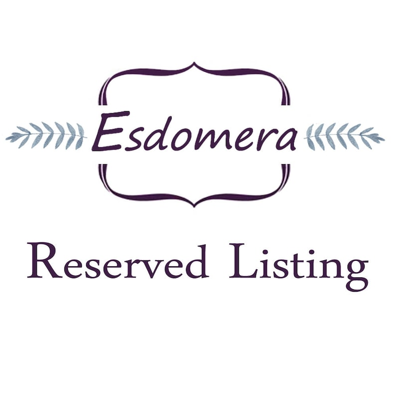 Esdomera Reserved Listing Payment Plan 34 of CFR0382-ESMS1CT