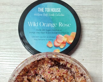 Wild Orange Rose Body Scrub