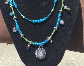 Two Tier necklace with Pendant