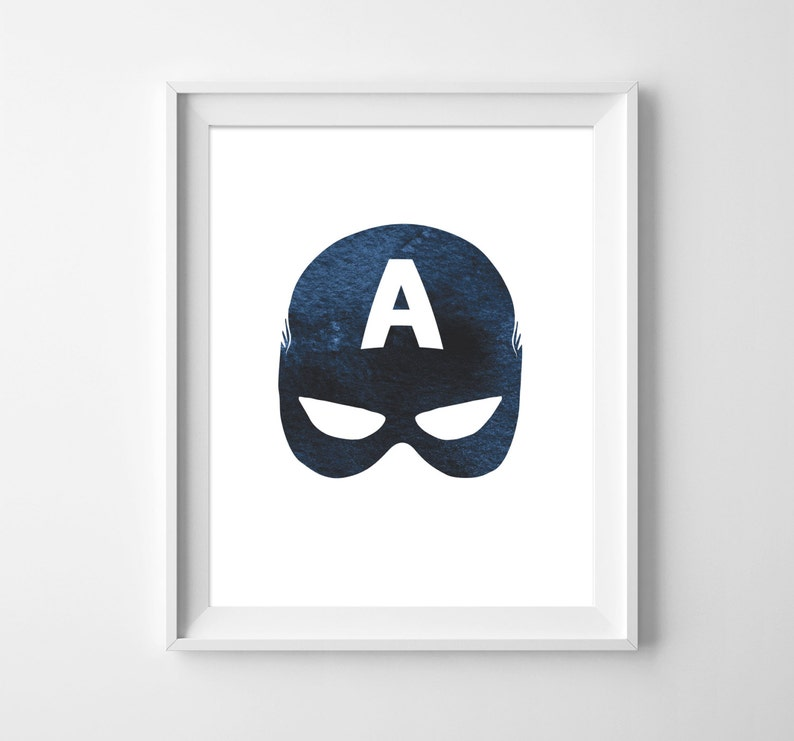 picture relating to Captain America Mask Printable named Captain The us Wall Artwork, SuperHero Printable, Printable Artwork, Youngsters Artwork, Captain The us Mask, Boys Artwork, Instantaneous Down load, Motif Photographs