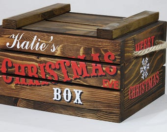 Christmas Gift Box Etsy