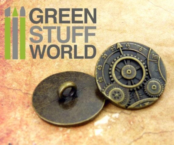 1 steampunk engranaje mecanismo aprox 24 x 2,5mm Antik colores
