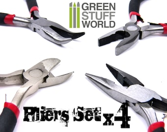 Complete Pliers Set - Hobby tools