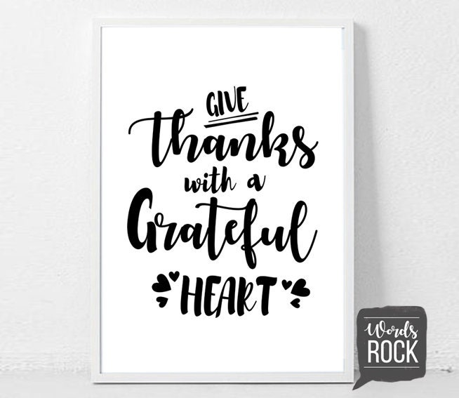 Grateful heart about scripture What Does