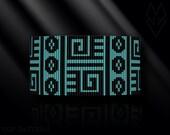 loom bracelet pattern, loom bracelet, loom stitch, Toho Round pattern, pdf pattern, beading bracelet, beading tutorial - Native American