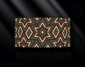 peyote bracelet pattern, odd count peyote pattern, peyote stitch, Toho Round pattern, pdf pattern, beading bracelet tutorial - African Stars
