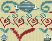 Loom bracelet pattern - H...