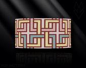 loom bracelet pattern, loom bracelet, loom stitch, Toho Round pattern, pdf pattern, beading bracelet, beading tutorial - Celtic knot