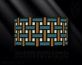 loom bracelet pattern, loom bracelet, loom stitch, Toho Round pattern, pdf pattern, beading bracelet, beading tutorial - Gird