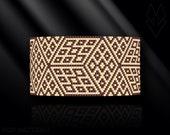 peyote bracelet pattern, peyote pattern, peyote stitch, Miyuki Delica pattern, pdf pattern, beading bracelet tutorial - Magic Cube