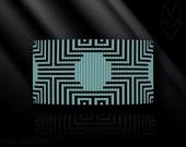 loom bracelet pattern, loom bracelet, loom stitch, Toho Round pattern, pdf pattern, beading bracelet, beading tutorial - Optical illusion