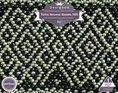 Netting pattern, Ojo de Dios huichol bracelet pattern