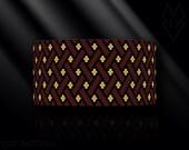peyote bracelet pattern, odd count peyote pattern, peyote stitch, Toho Round pattern, pdf pattern, beading bracelet tutorial - Grid