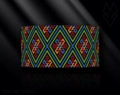 peyote bracelet pattern, odd count peyote pattern, peyote stitch, Toho Round pattern, pdf pattern, beading bracelet tutorial - Boho