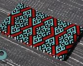 peyote bracelet pattern, odd count peyote pattern, peyote stitch, Toho Treasure pattern, pdf pattern, beading bracelet tutorial - Ethnic art