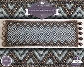 Netting pattern, Celtic huichol bracelet pattern