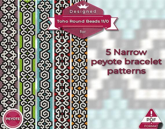 DIY Bracelet Even Count Stitch Pattern Woman Peyote pattern Ocean Bracelet Pattern Beach Bead Pattern Lady Pendant Pattern
