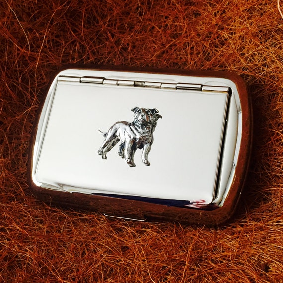 STAFFORDSHIRE BULL TERRIER DOG//PUPPY ENGRAVED LIGHTER GIFT UK