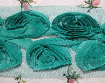 Tulle, Borte, Roses, Roses