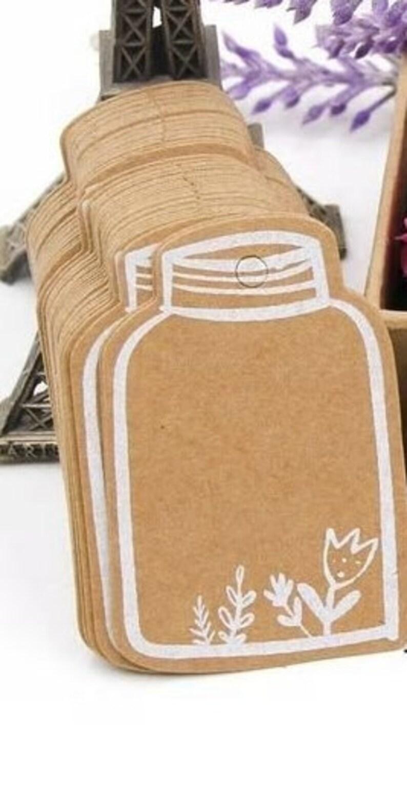 0.10 EURSt. Gift Pendant SCHRAUBGLAS with BLUMEN Strength Paper 25 St.