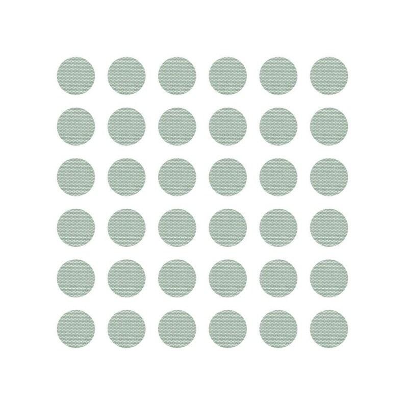 Stickers Linen Green