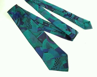 d2508a23c24d2 Retro Abstract Tie Vintage Necktie