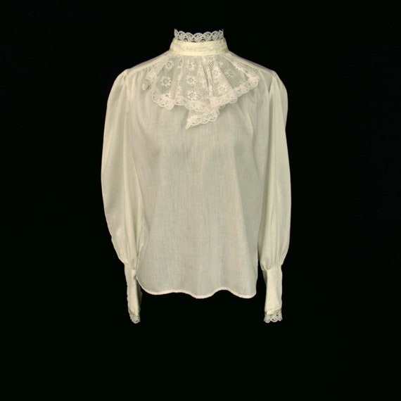 Vintage Jessica's Gunnies Top Blouse Size 11 Top H