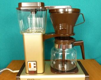 1990 Technivorm Coffee Maker Clubline UNUSED Vintage Retro Kitchen Appliances