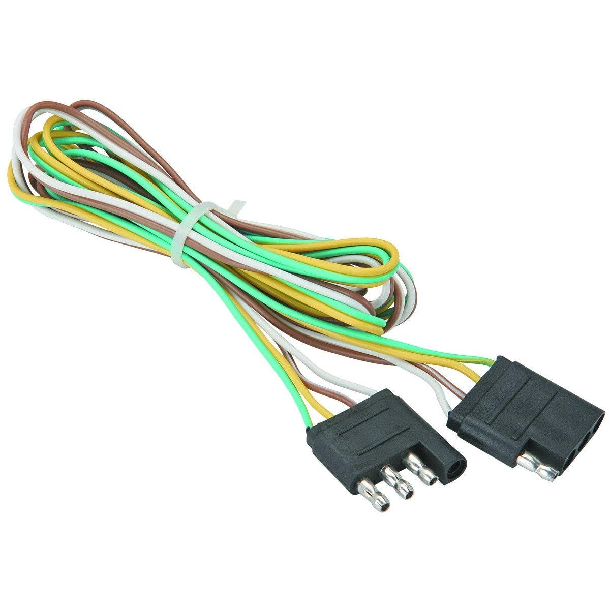 Trailer Wire Kit Haul Master 66616 12 Volt 22 Gauge Wires Etsy Wiring Color Image 0