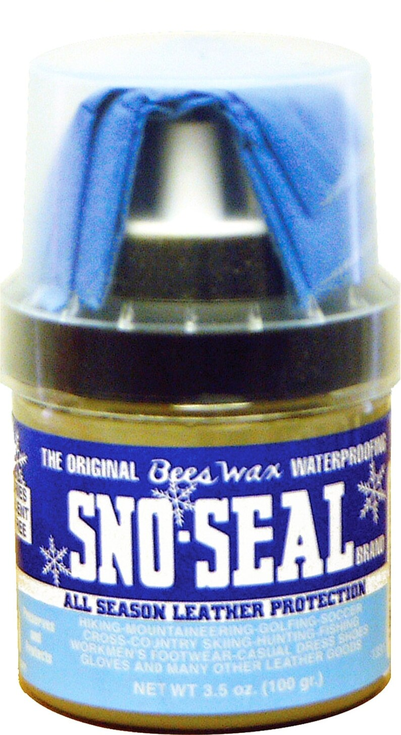 7302368ee4f5 Original SNO-SEAL 1331 Beeswax boot shoe leather waterproofing