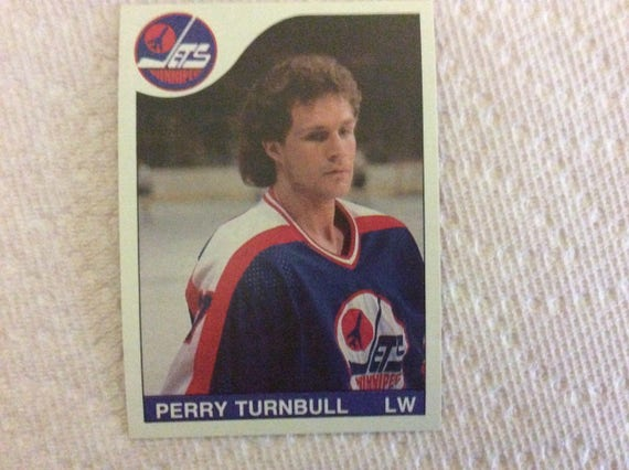 Perry Turnbull - Hockey 85/86 - #254