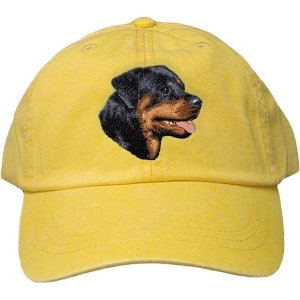 Rottweiler Custom Pet Embroidered Hat Dog Lover Gift Dad Hat Gift for Her  Best Friend Gift bed5045618f0