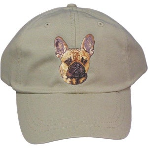 1efa7967cf2 French Bulldog Custom Pet Embroidered Hat Dog Lover Gift Dad Hat Gift for  Her Best Friend Gift