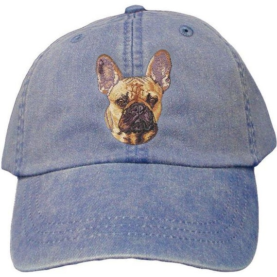 e2b19ab241f French Bulldog Custom Pet Embroidered Hat Dog Lover Gift Dad