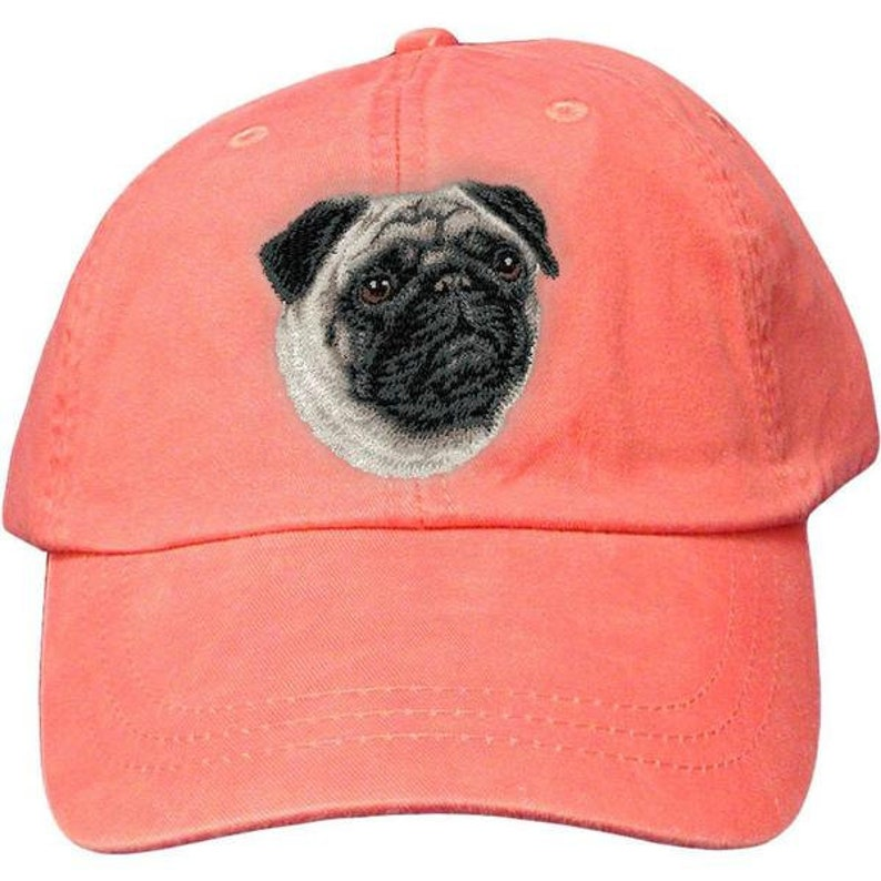 3d5ef05cdf9 Pug Custom Pet Embroidered Hat Dog Lover Gift Dad Hat Gift