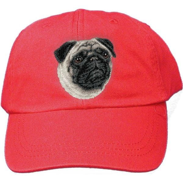 adb65883eac Pug Custom Pet Embroidered Hat Dog Lover Gift Dad Hat Gift for Her ...