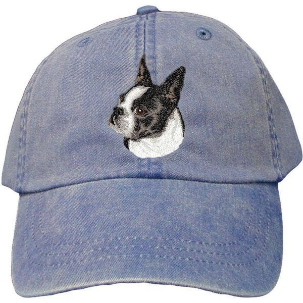 fd0065d4cbb Boston Terrier Custom Pet Embroidered Hat Dog Lover Gift Dad Hat ...