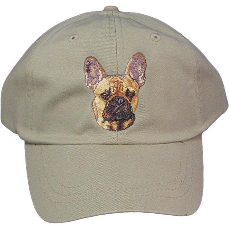 9d1942a574d French Bulldog Custom Pet Embroidered Hat Dog Lover Gift Dad