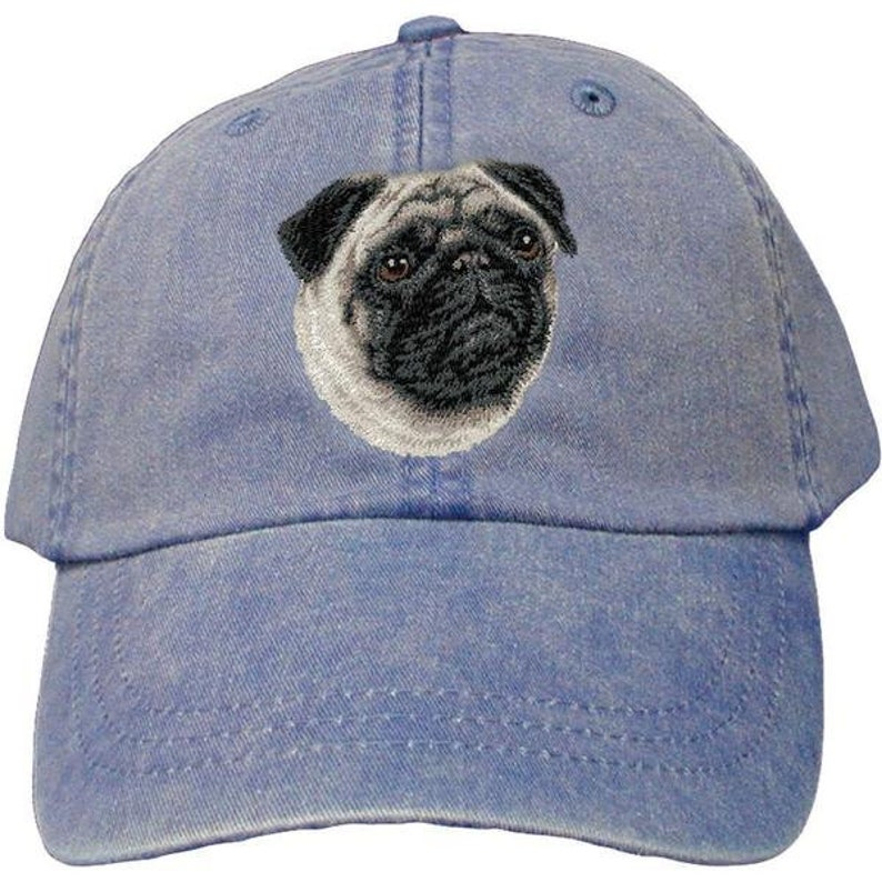 27e3925371e Pug Custom Pet Embroidered Hat Dog Lover Gift Dad Hat Gift