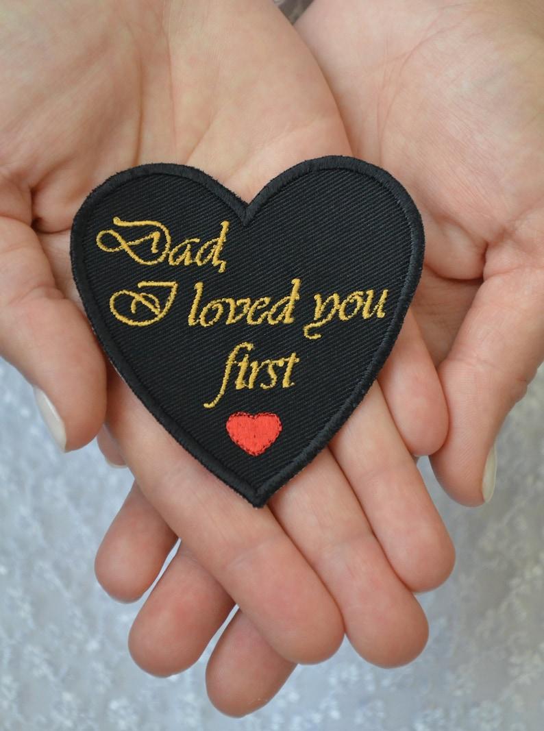 Father of the Bride handkerchief Dad wedding tie patch