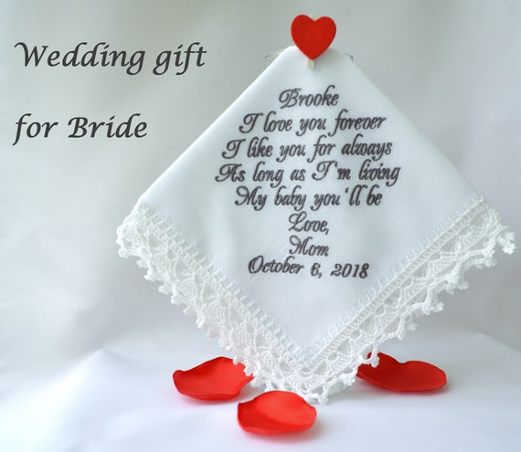 Mother Daughter Wedding Gifts: Wedding Gift For Bride From Mom Daughter Wedding Gift From
